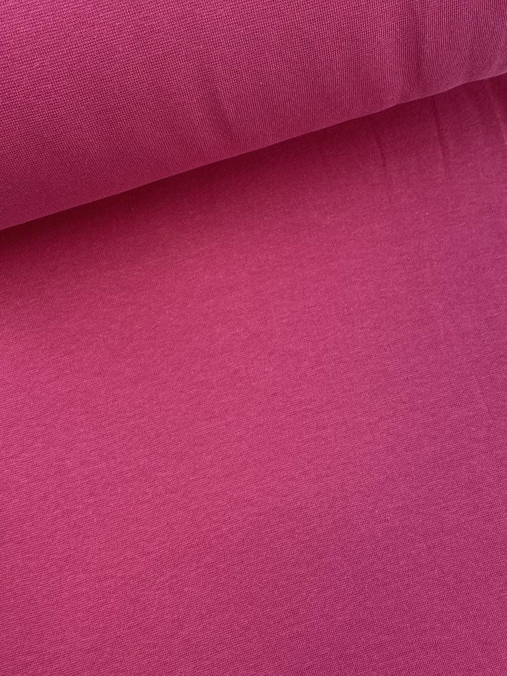 Bündchenware (glatt), pink. Art. SW10622