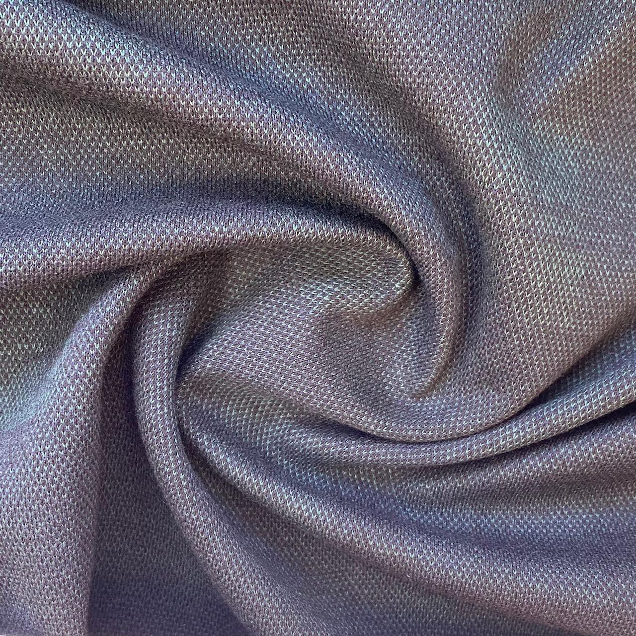 Strick Jacquard aus recycelter Baumwolle, Karo. Art. 411011