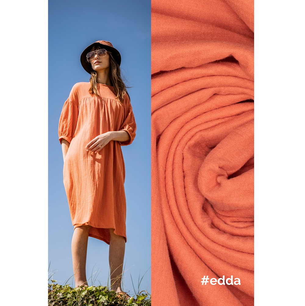 Fibre Mood #Edda, Musselin, Arabesque. Art. FM795100