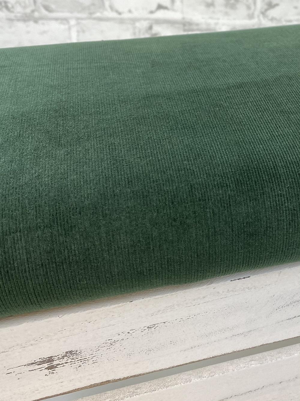 Feincord gewaschen, olivgrün. Art. 4809/827