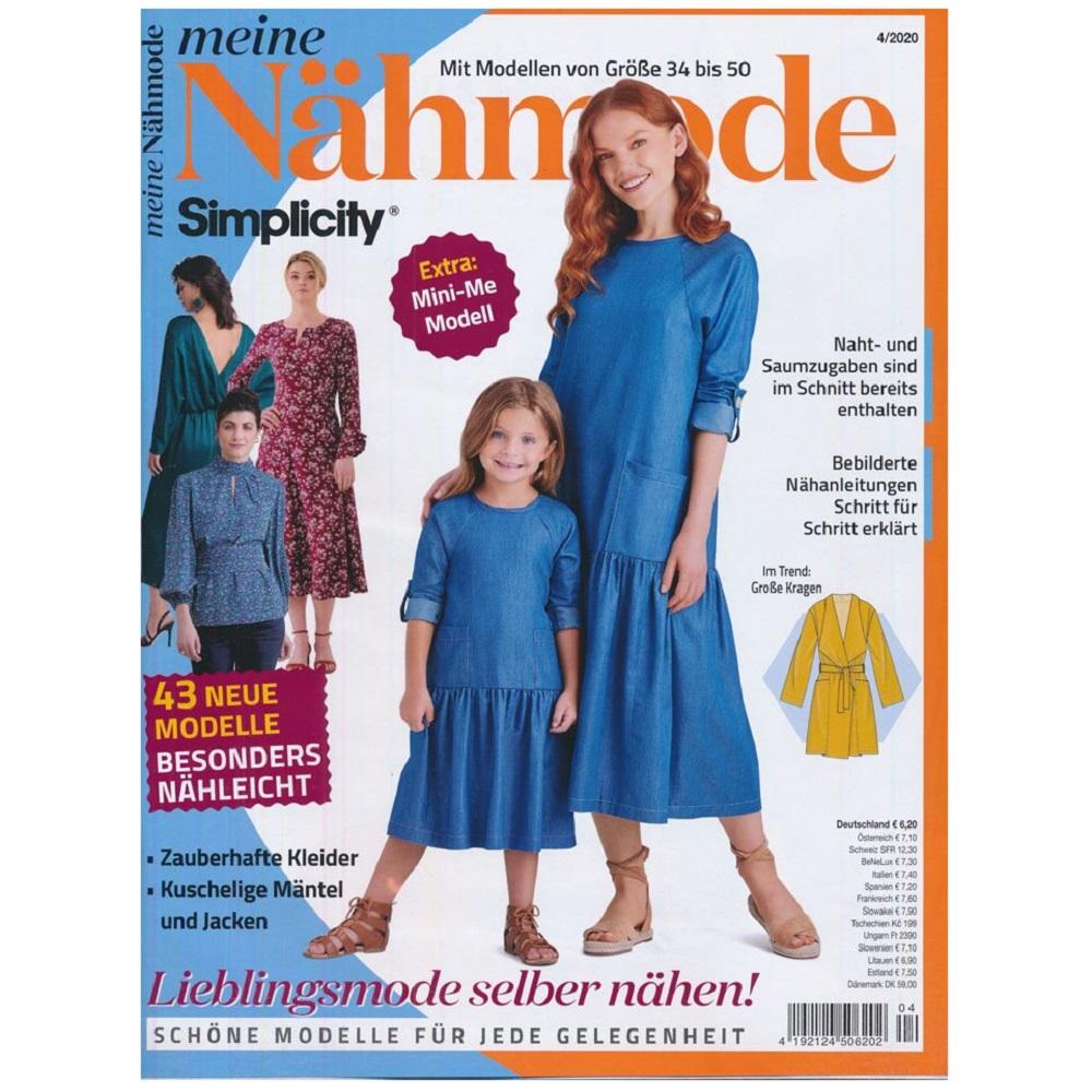 MEINE NÄHMODE, Ausgabe 4/2020