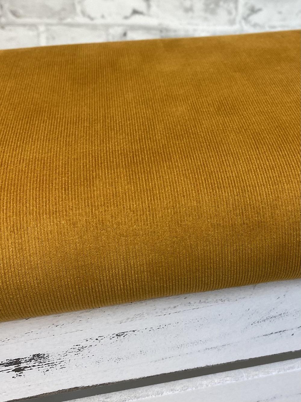 Feincord gewaschen, ockergelb. Art. 4809/1034