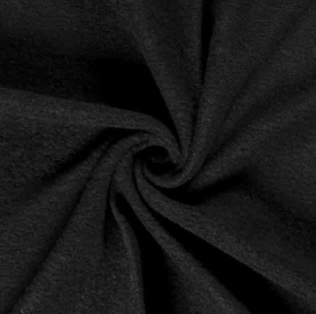 Kochwolle Klassik, einfarbig, schwarz. Art. 00669/069