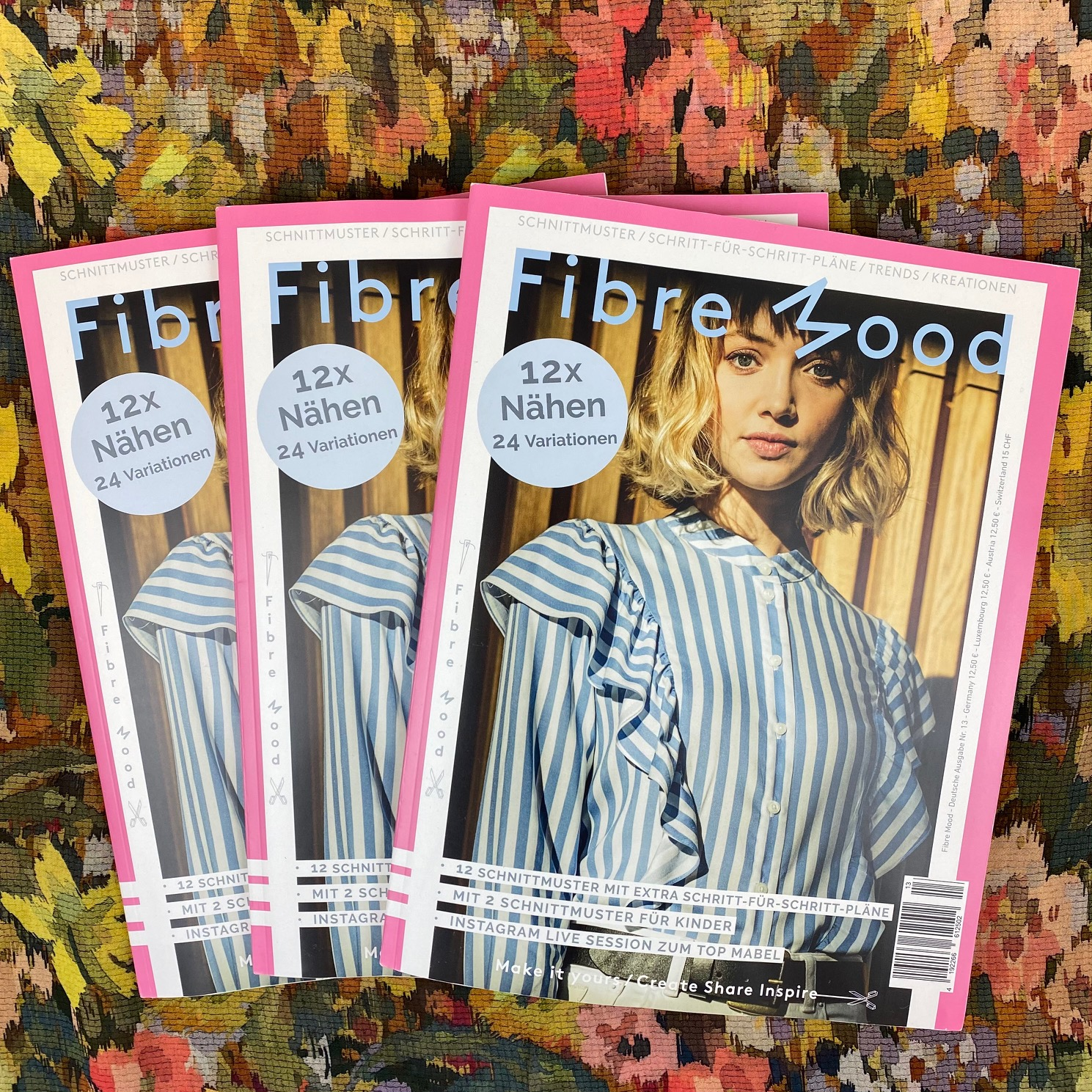 Fibre Mood Magazin. Ausgabe 13/2021