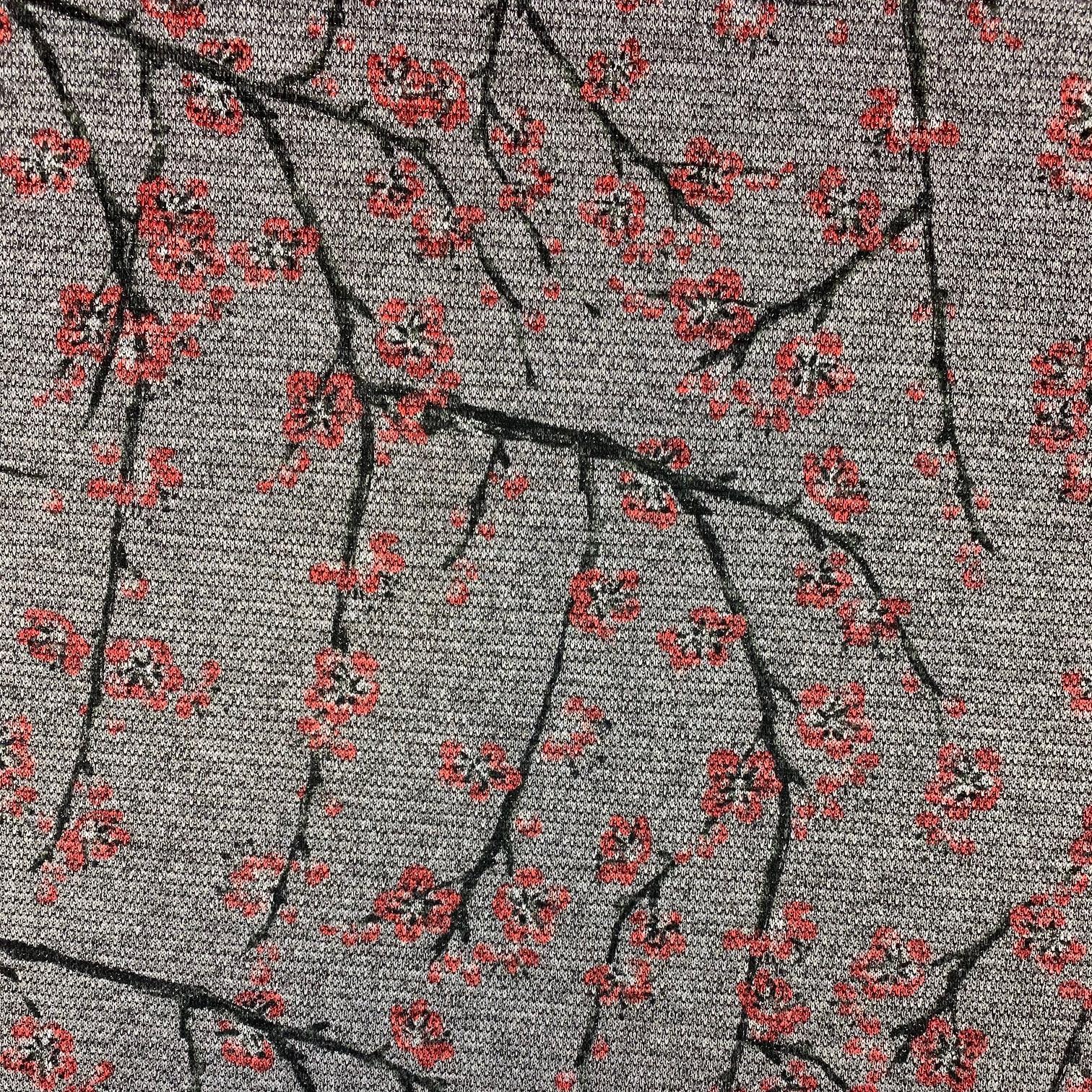 Jacquard Jersey, Lurex, Sakura. Art. 07605.001