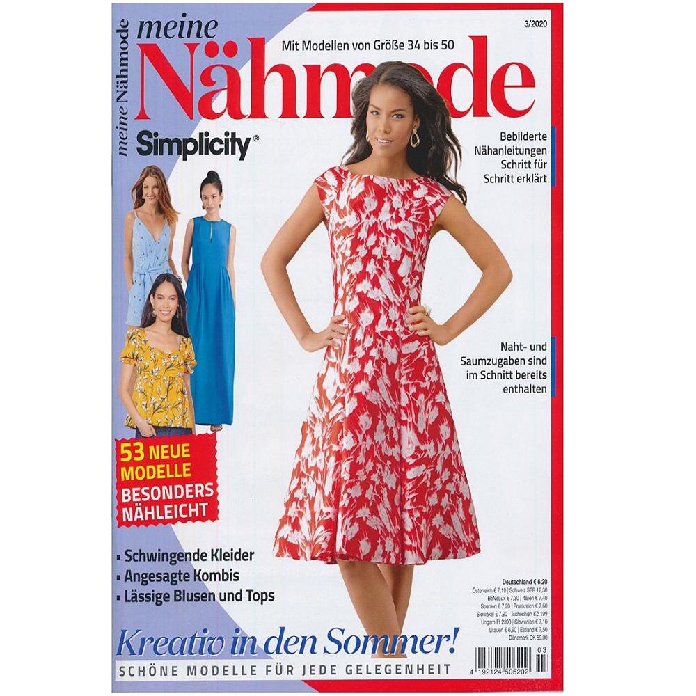 MEINE NÄHMODE, Ausgabe 3/2020