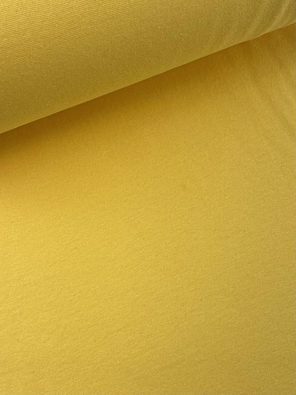 Bündchenware (glatt), gelb. Art. SW10645