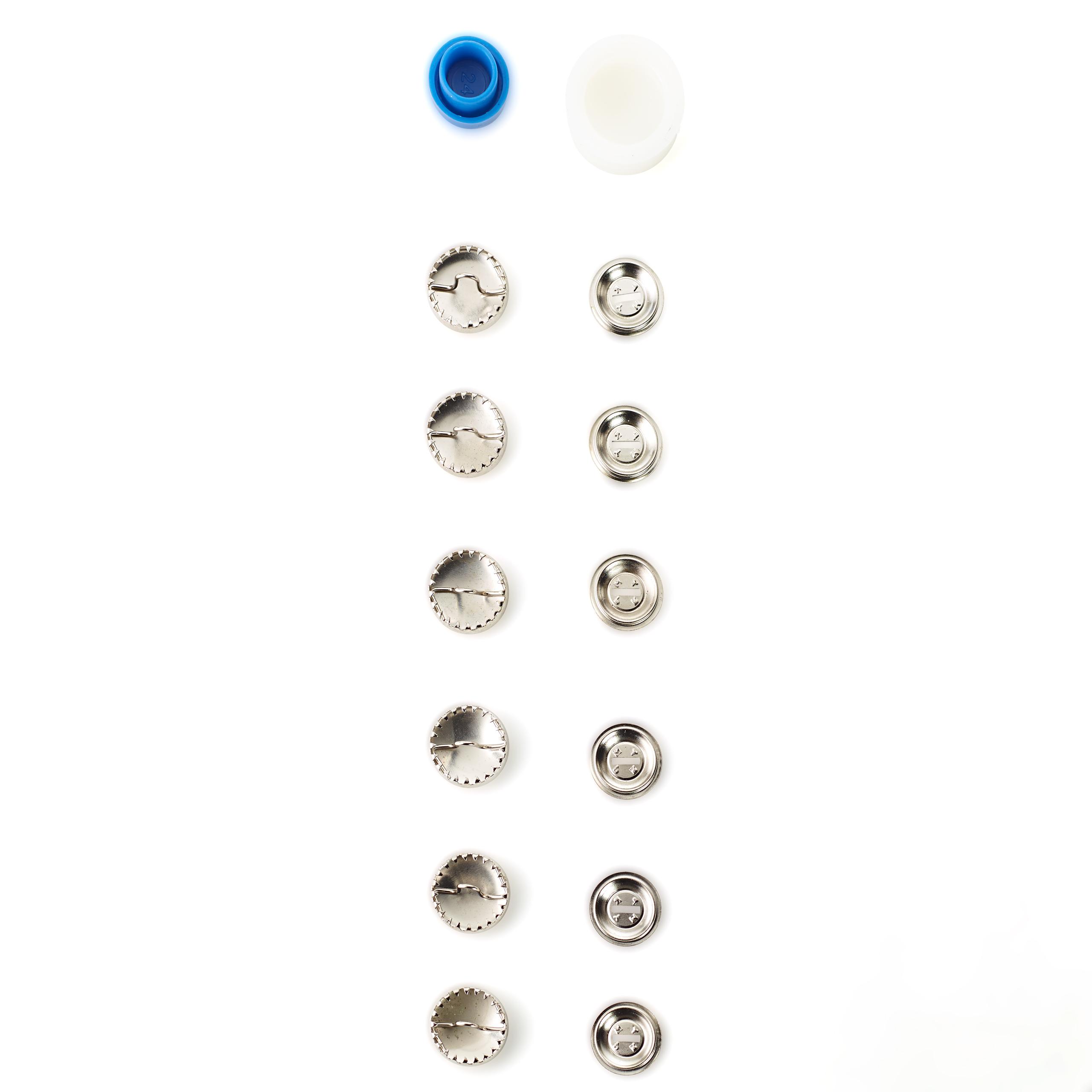 Überziehbare Knöpfe, 6 Stück. Prym Art. 323115