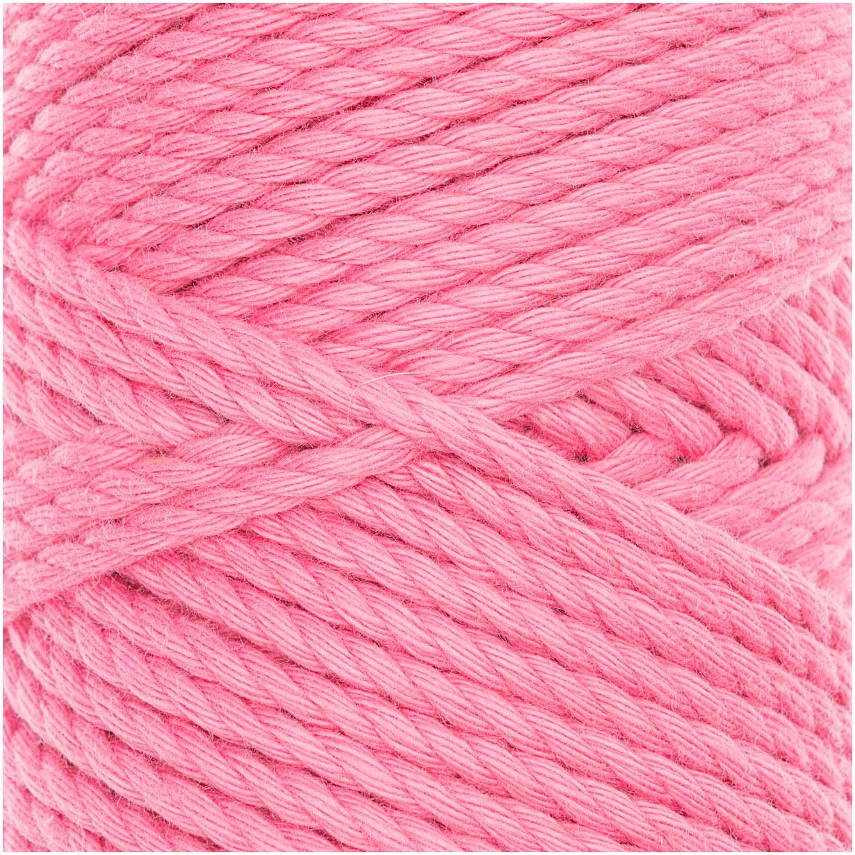 CREATIVE COTTON CORD SKINNY MAKRAMEE-GARN 190G 55M / pink