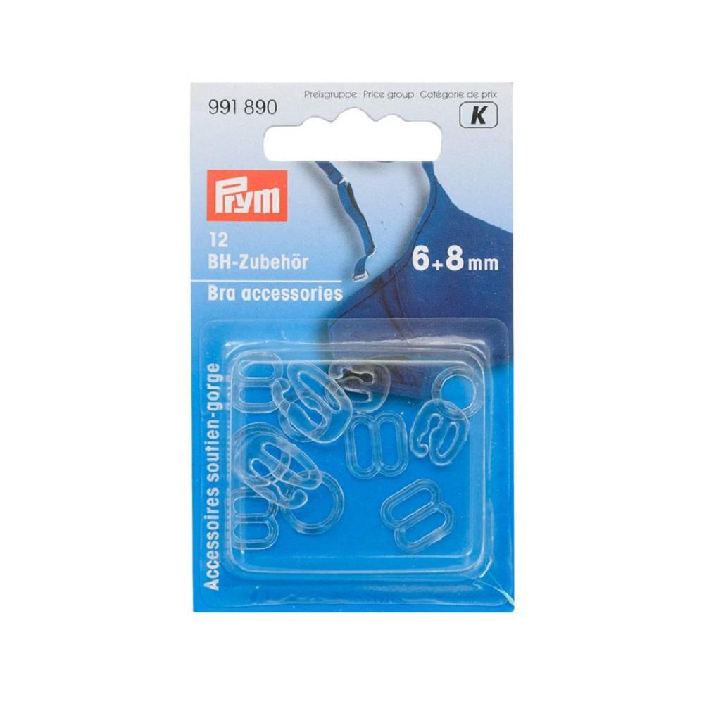 BH-Zubehör, 6 und 8 mm, transparent.  Art. 991890