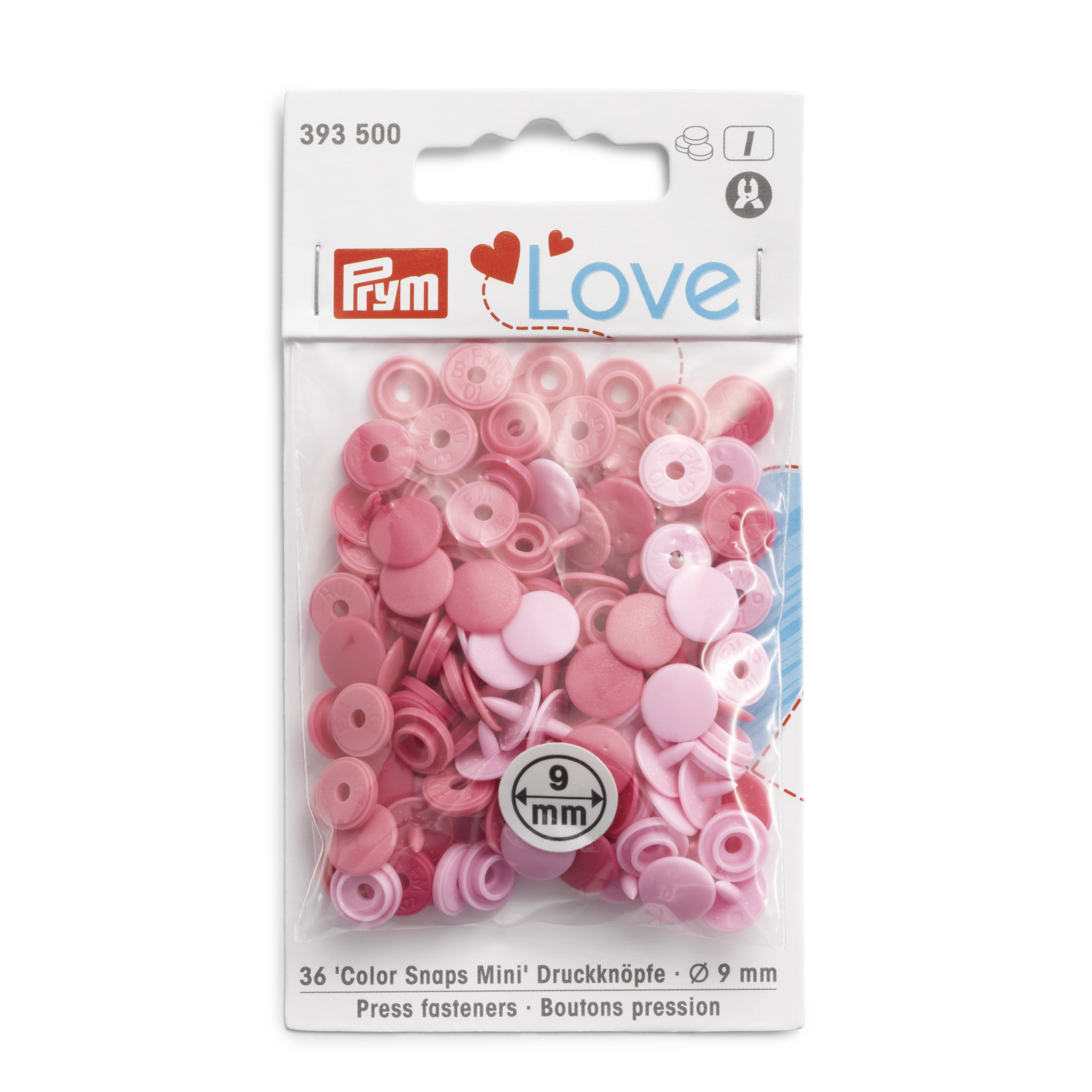 "Druckknopf Color Snaps, mini, ""Prym-Love"", Prym - Art. 393500"