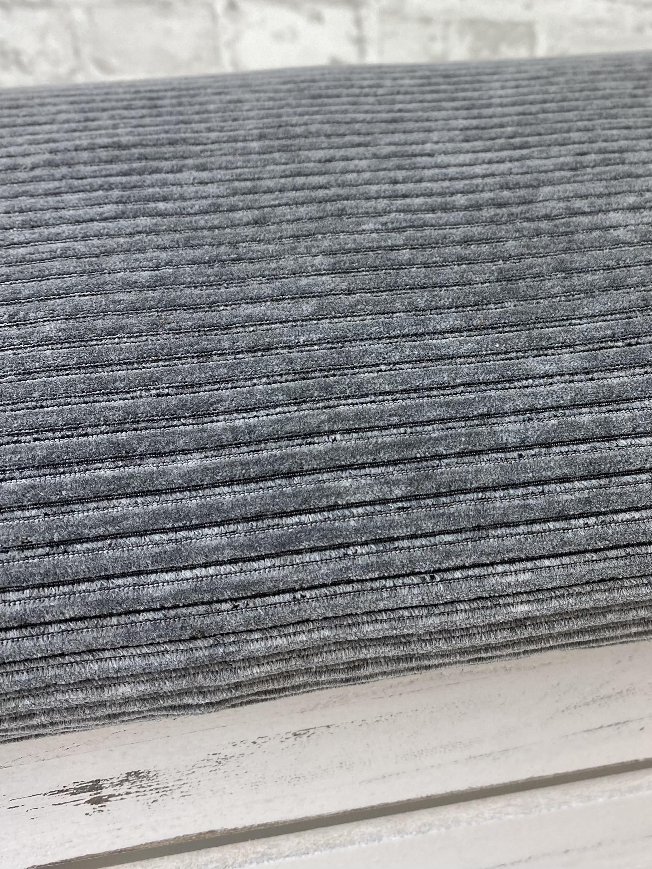 Jersey Breitcord, dunkel grau meliert. Art. KC8316-068