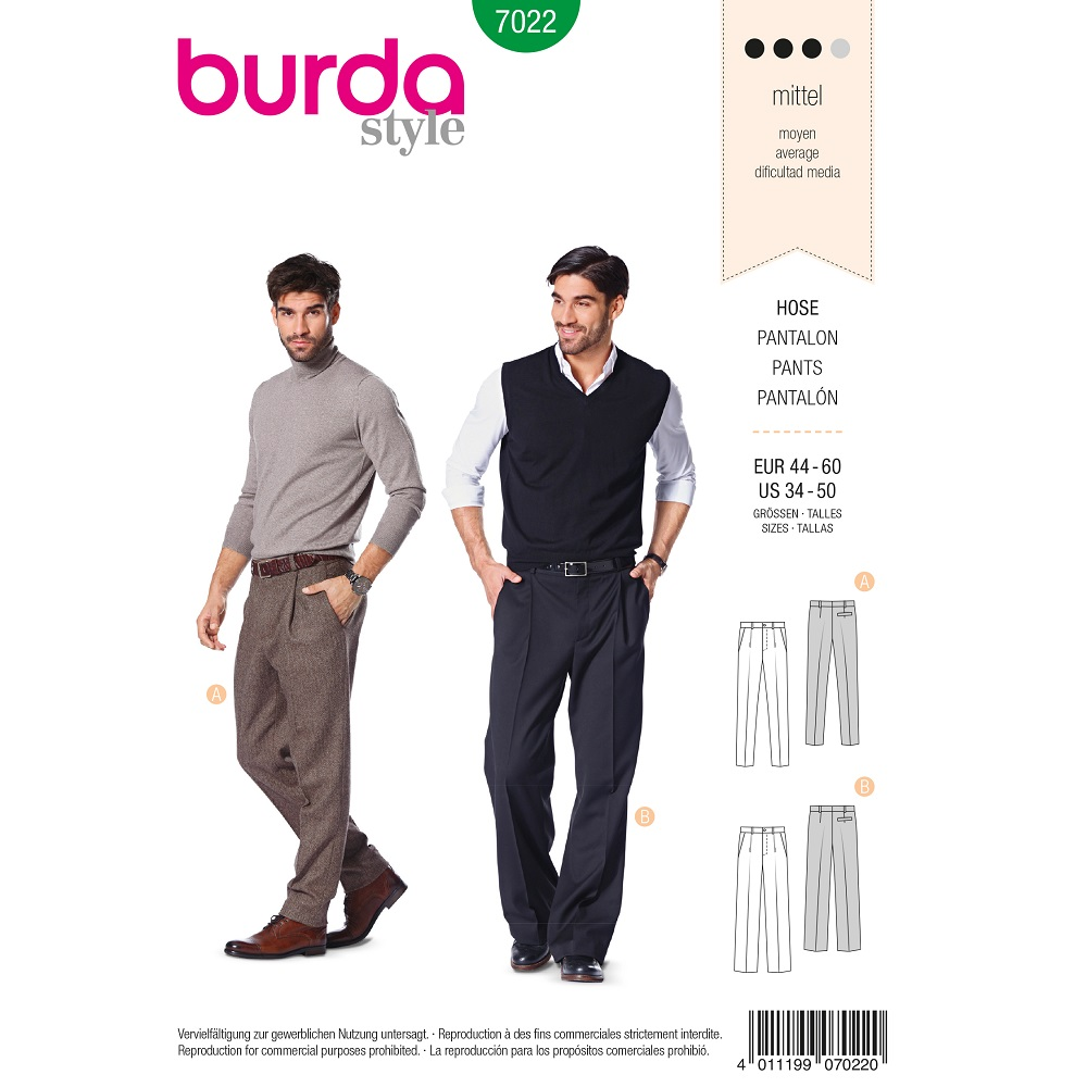 Hose mit Bundfalte F/S 2013 #7022