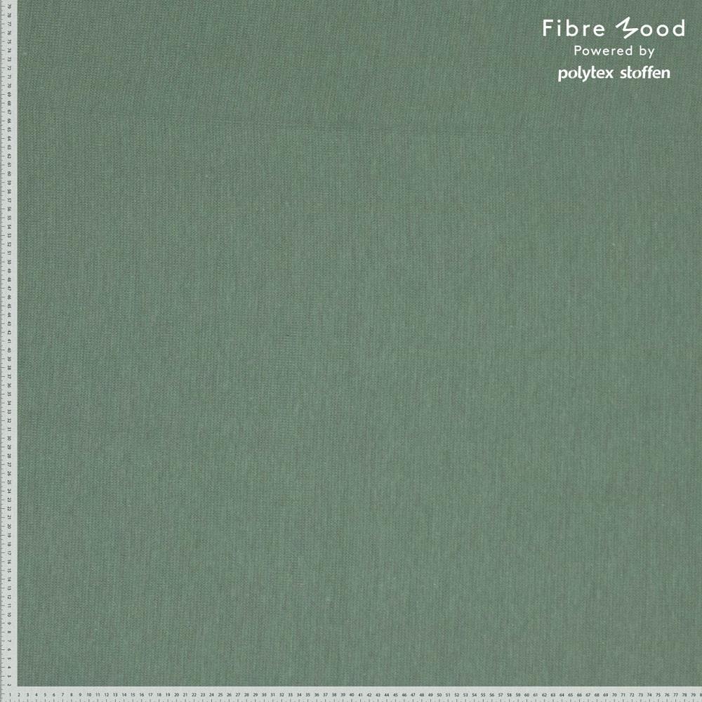 Bündchenware (glatt), Fibre Mood, nebelgrün