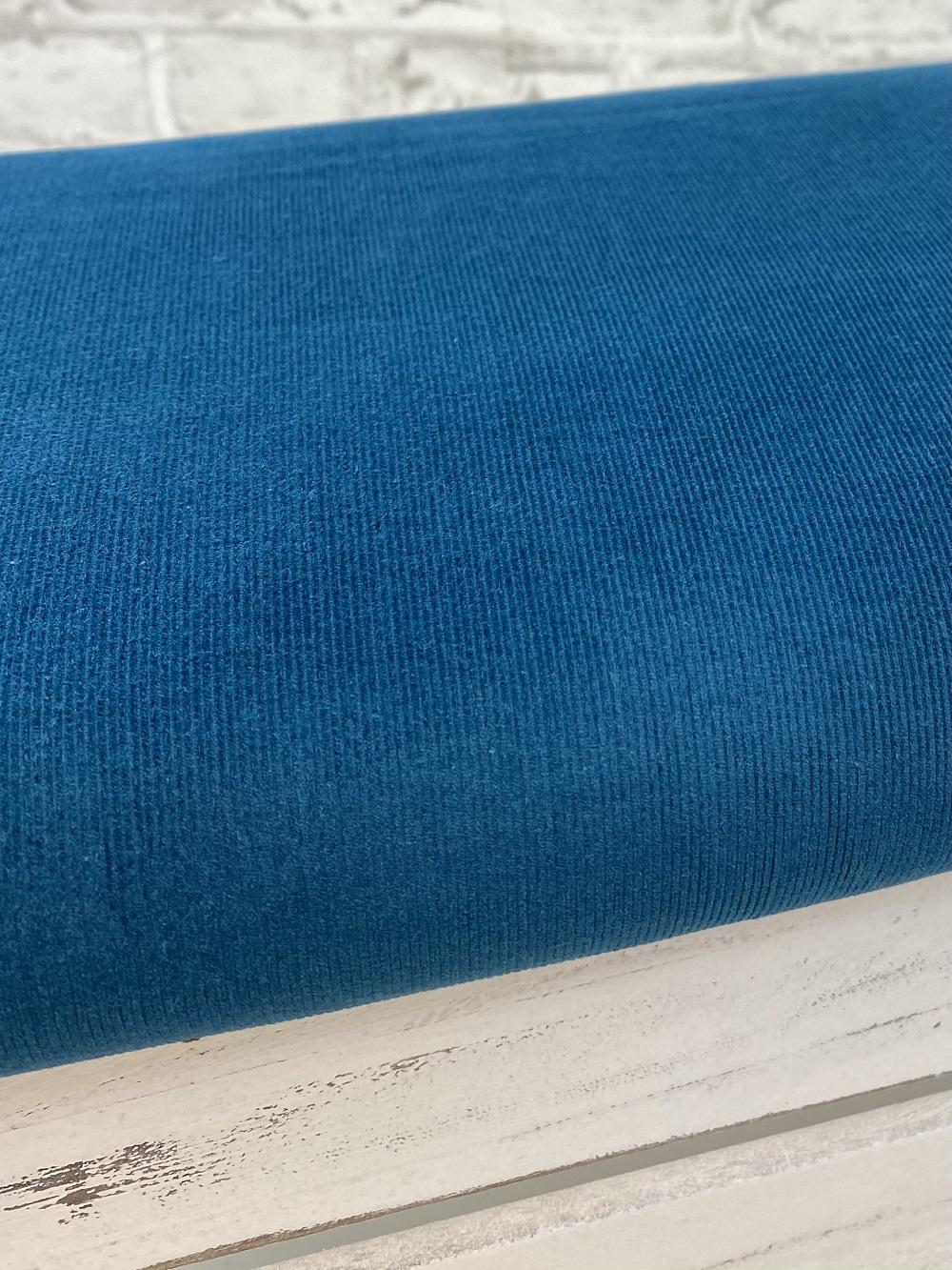 Feincord gewaschen, dunkelpetrol. Art. 4809/806