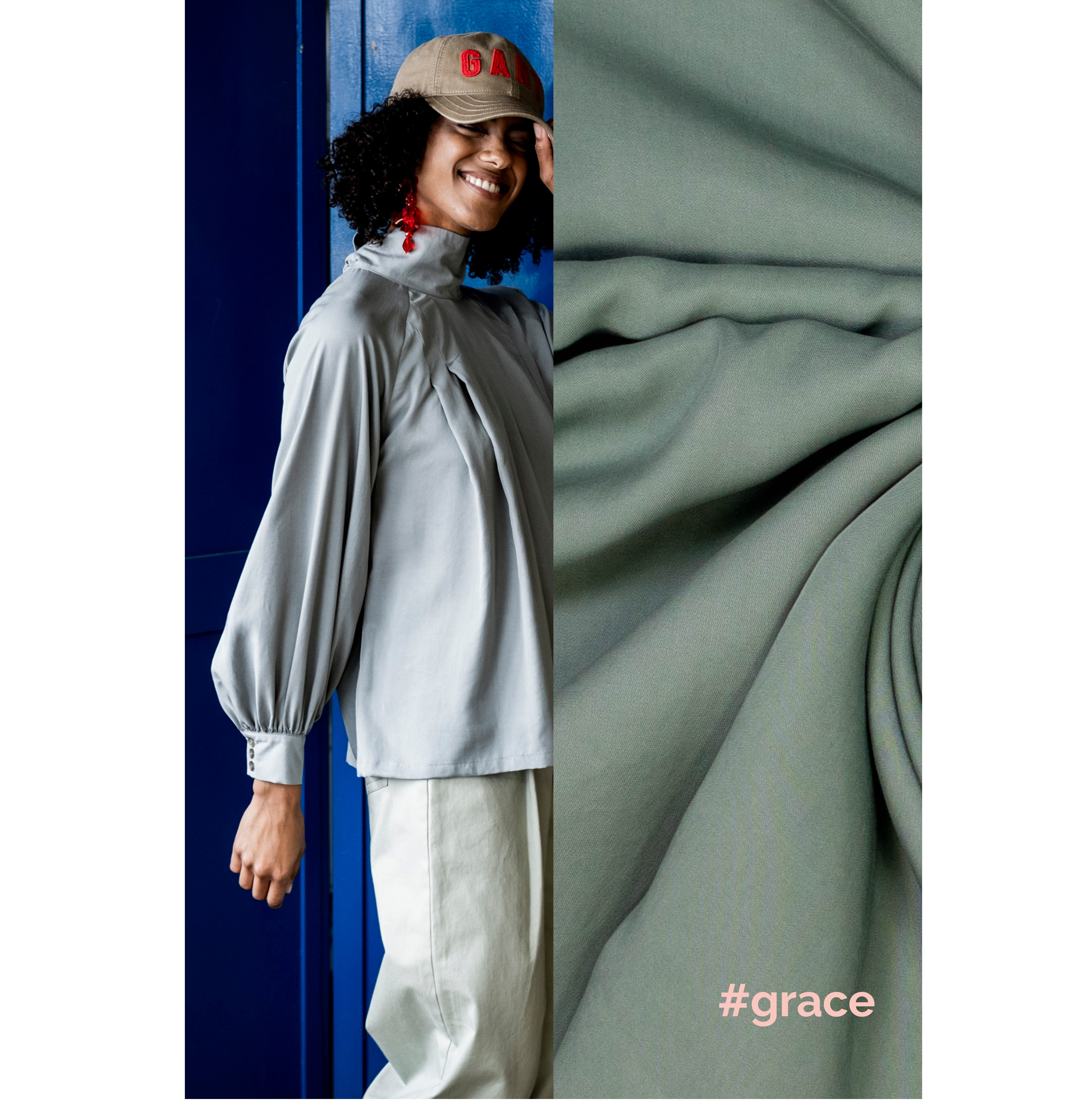 Fibre Mood #Grace, Tencel, grün. Art. FM799300