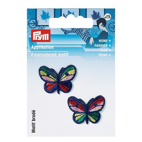 Applikation Schmetterlinge, bunt.  Art. 925221