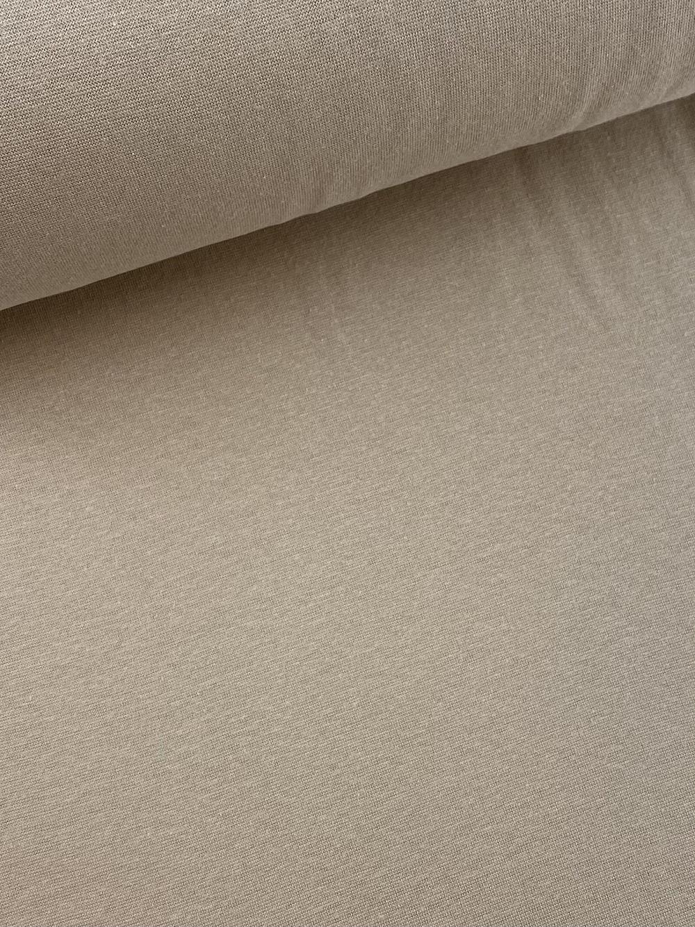 Bündchenware (glatt), beige. Art. SW10623