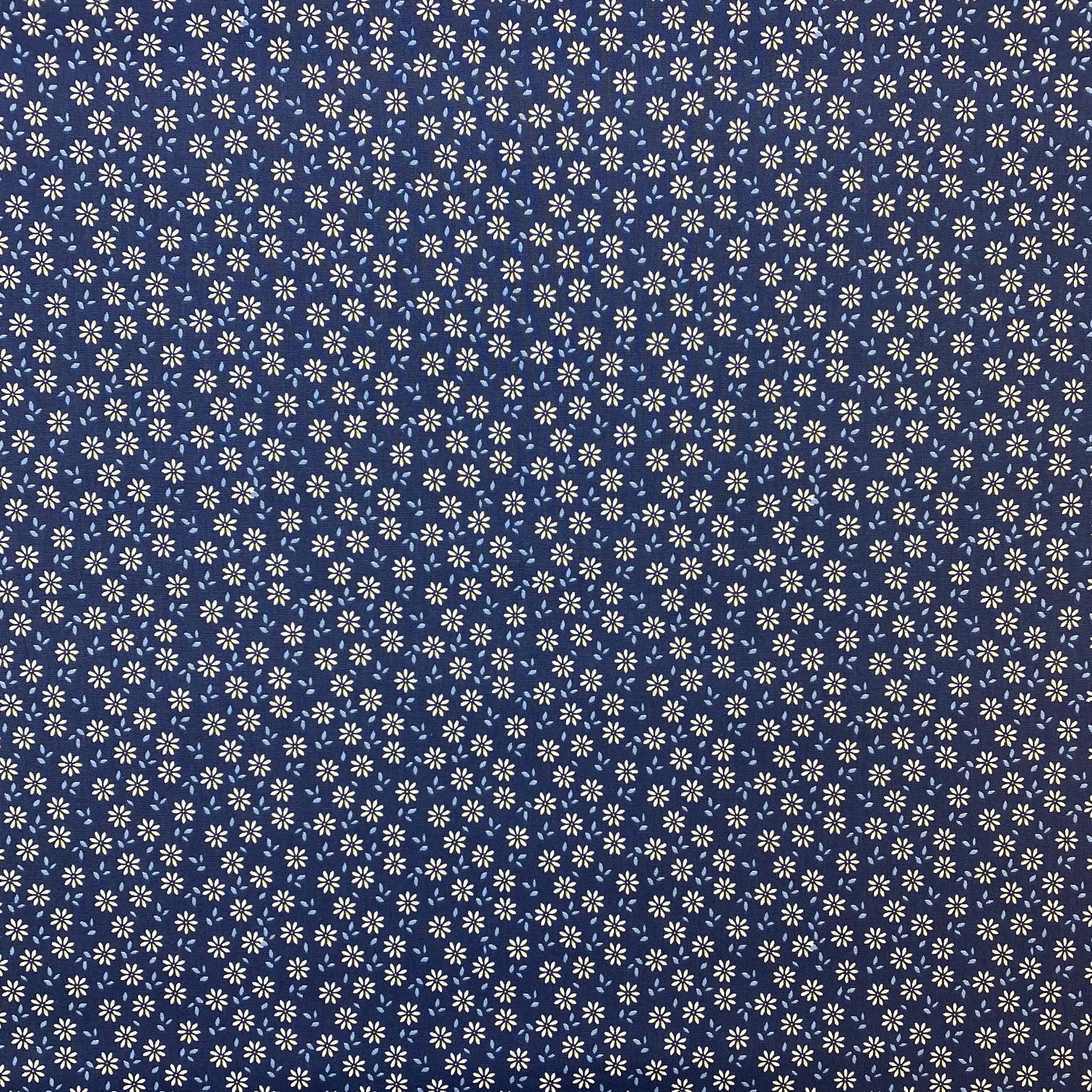 Baumwollpopeline, kleine Blumen. Art. SW11389