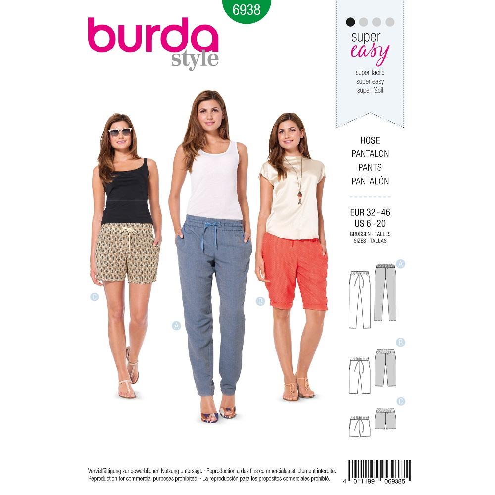 Gummizughose und Bermudas und Shorts F/S 2014 #6938