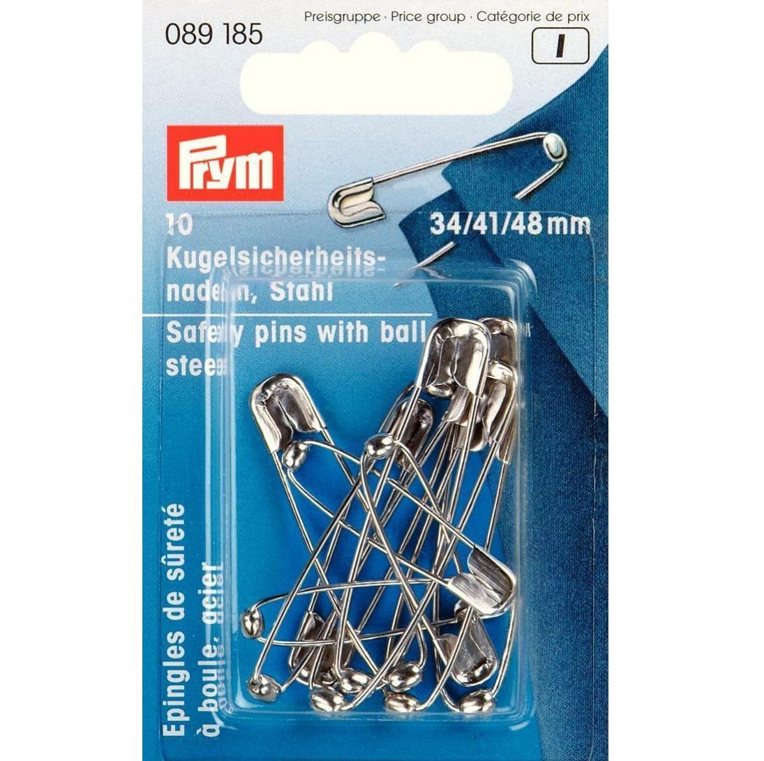 Kugelsicherheitsnadeln Stahl, Prym - Art. 089185