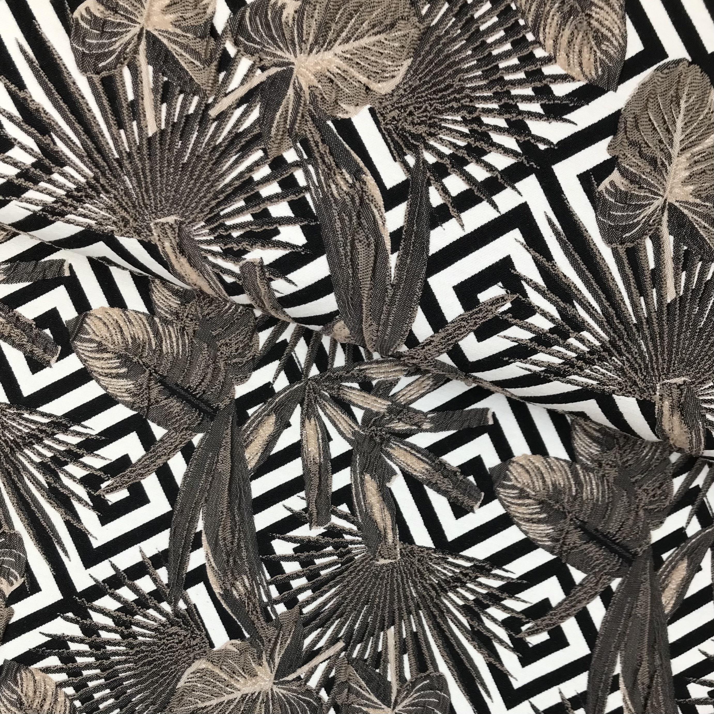Jacquard 3-Dimensional, braun. Art. SW11209
