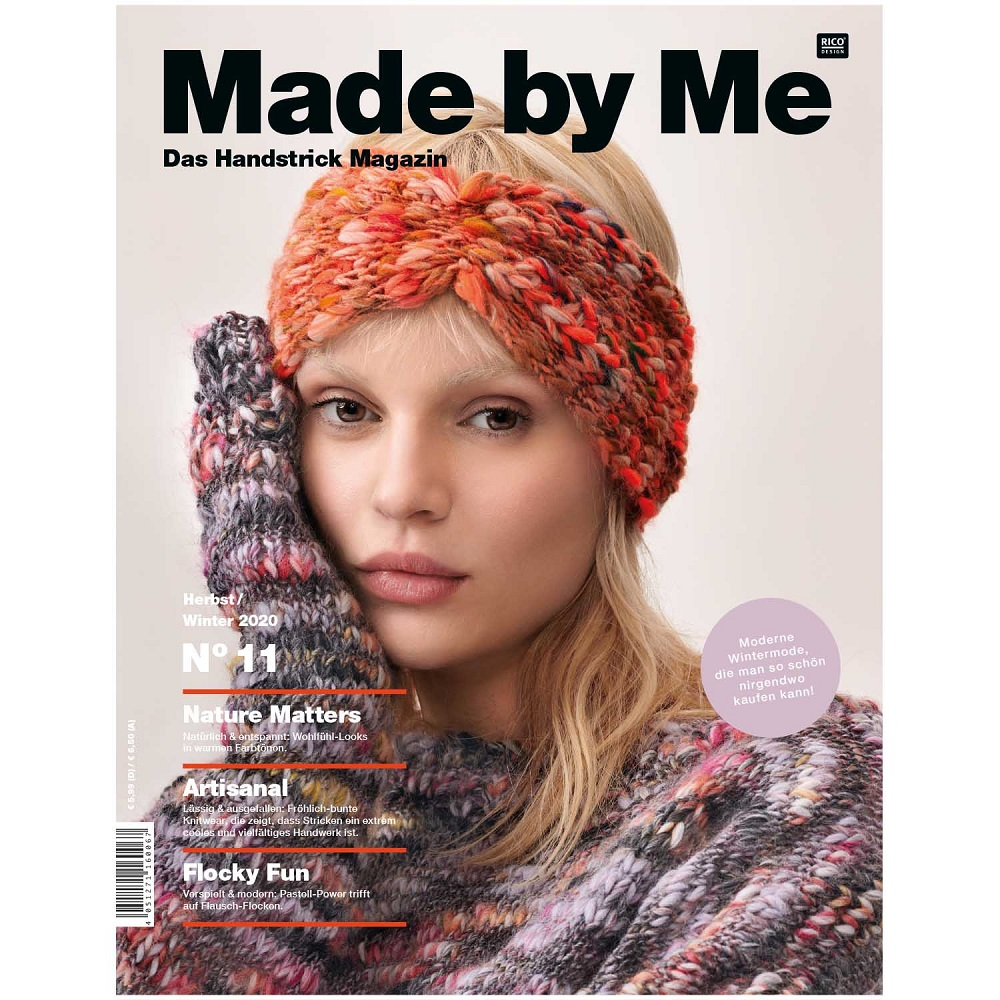 RICO DESIGN MADE BY ME HANDKNITTING NR.11 HERBST-WINTER
