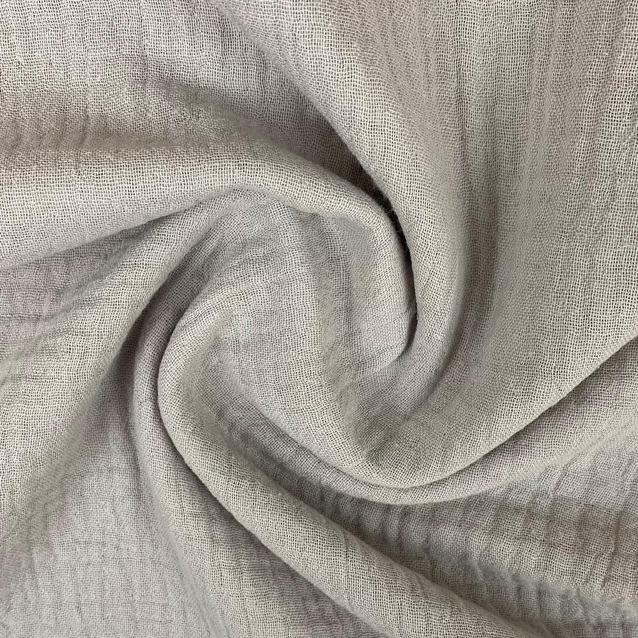 Baumwoll Musselin Double Gauze, sand. Art. 8290-052