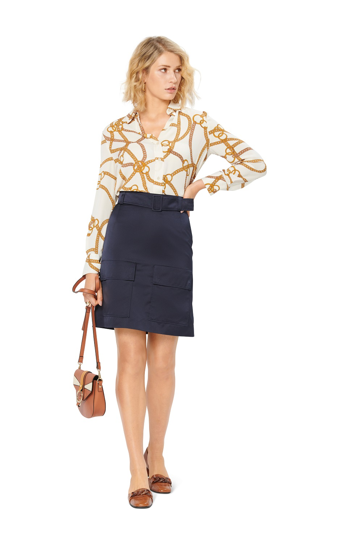 Ausgestellte Mini-Röcke. Burda #6147