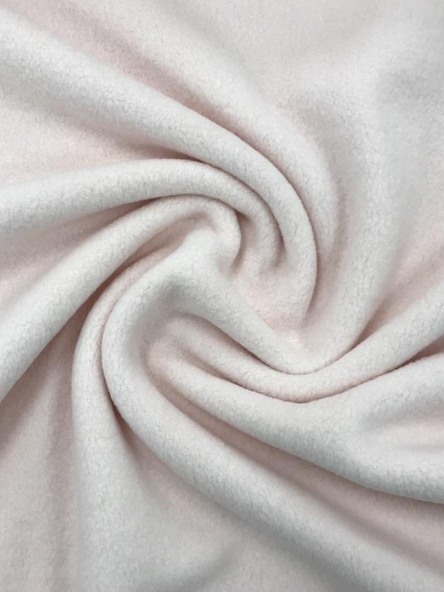 Baumwolle Melange Double Fleece, hellrosa. Art. 4459-413