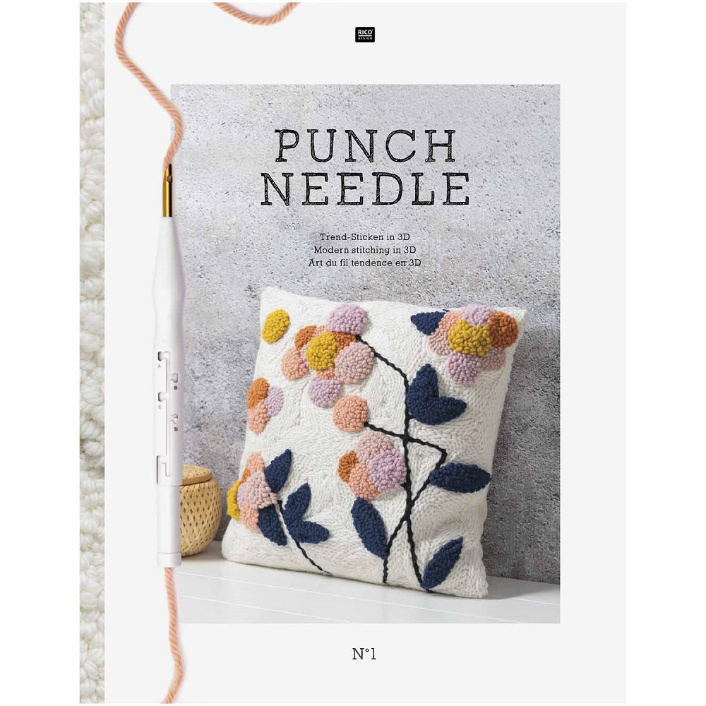 RICO DESIGN STICKBUCH PUNCH NEEDLE