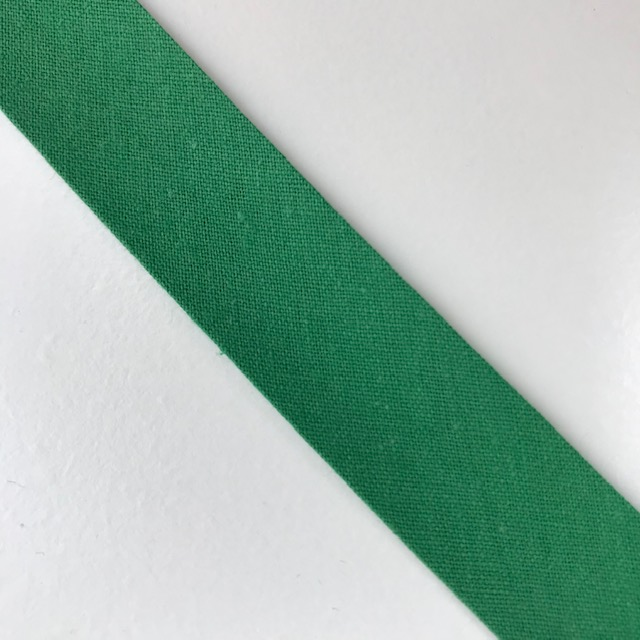 Baumwollpopeline - Schrägband, grasgrün. Art. SW11658
