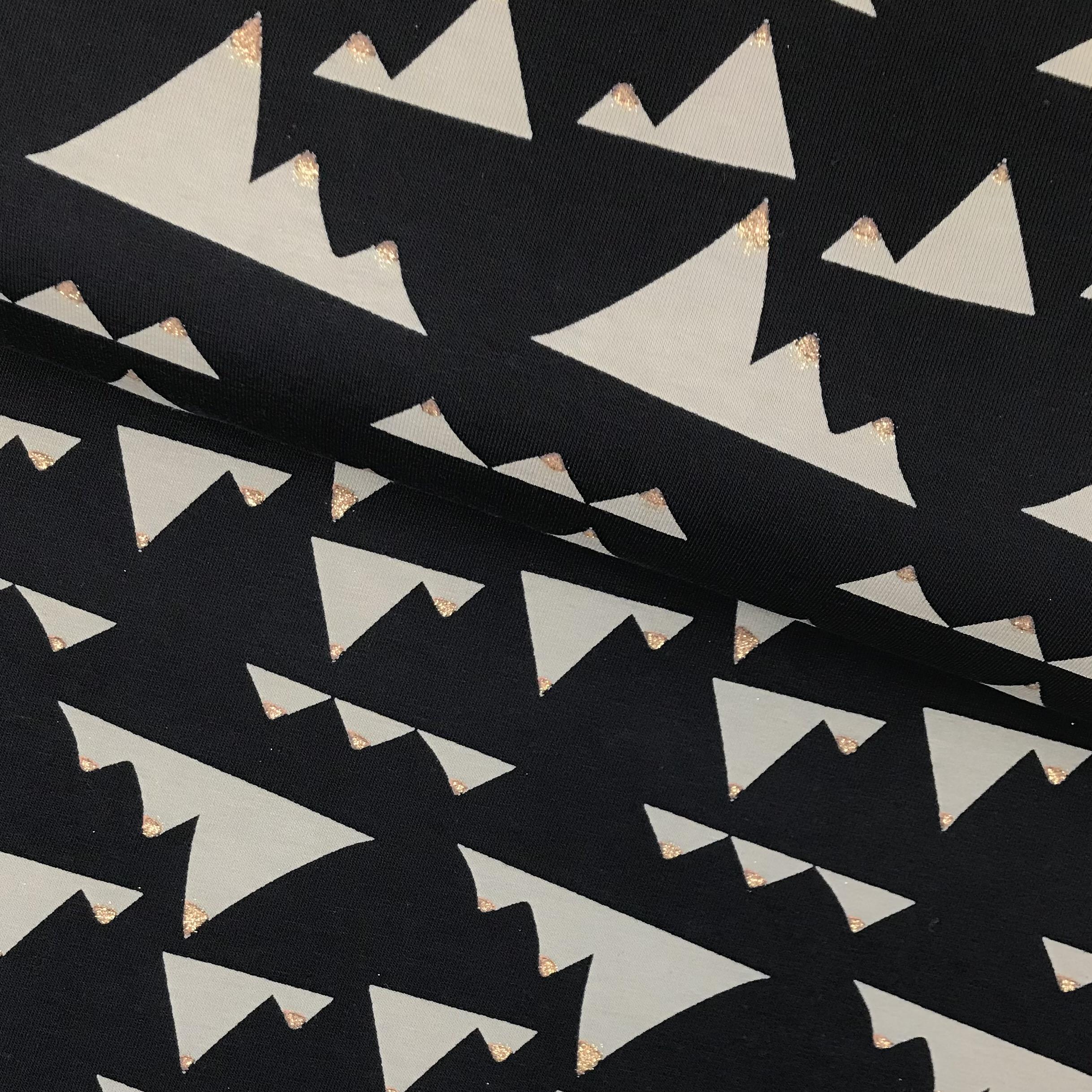 Kuschelsweat /Joggingstoff, angeraut, schwarz. Art.SW11181