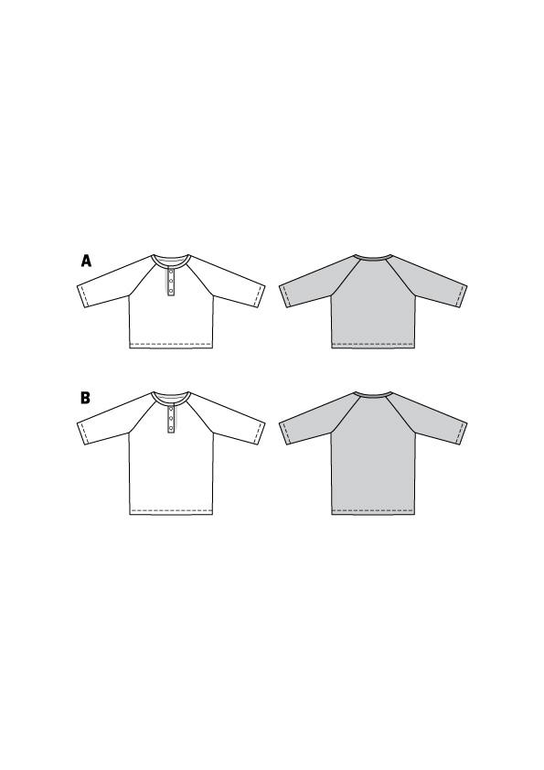 Shirts für die Kleinen. Burda #9284
