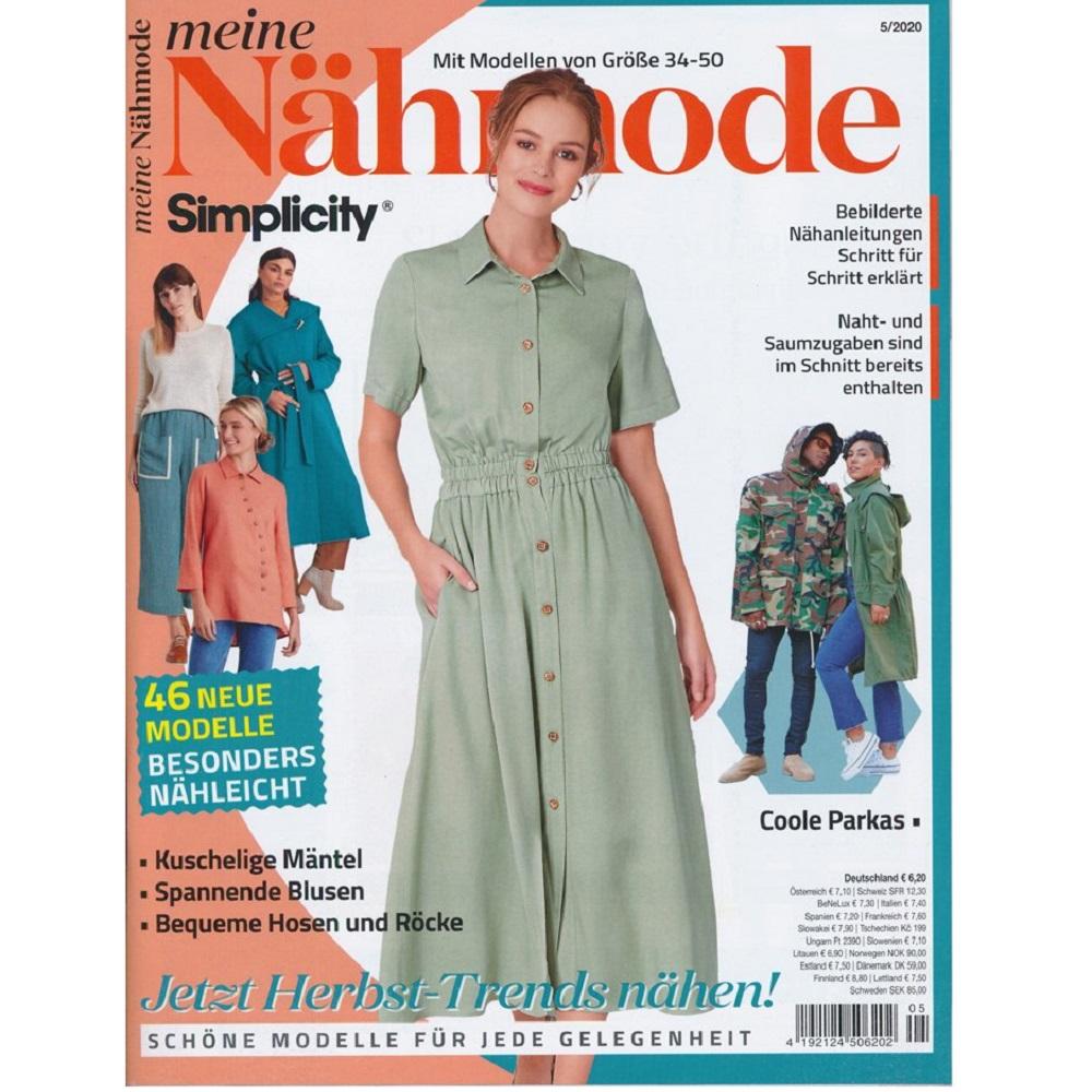 MEINE NÄHMODE, Ausgabe 5/2020
