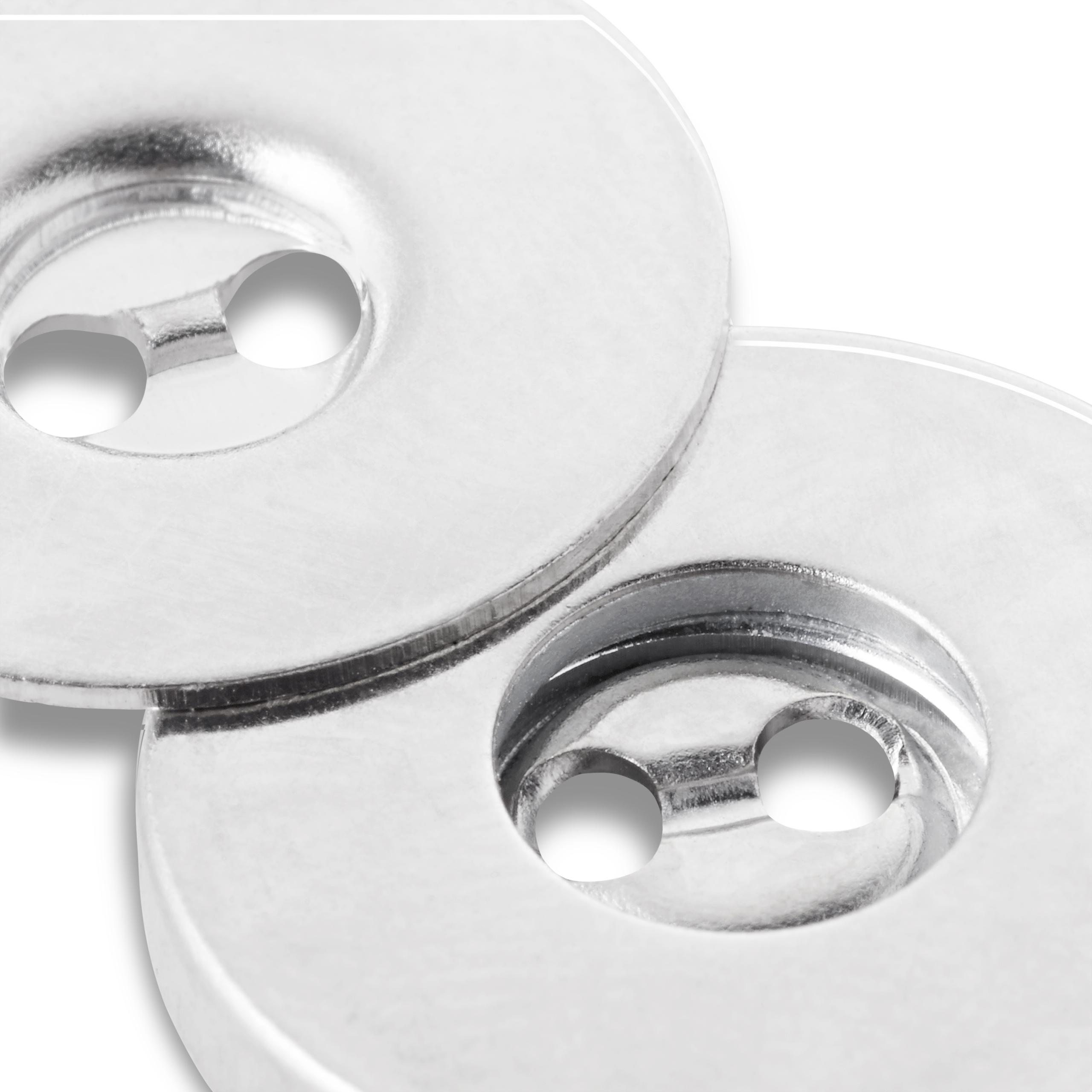 Magnet - Annähknöpfe, altmessing, 3 Stück, Prym - Art. 416472
