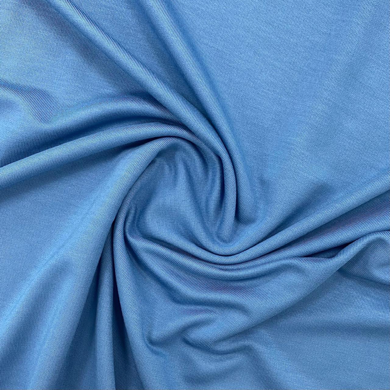 Fibre Mood #Alena, French Terry, Bambus, parisian blue. Art. FM779502