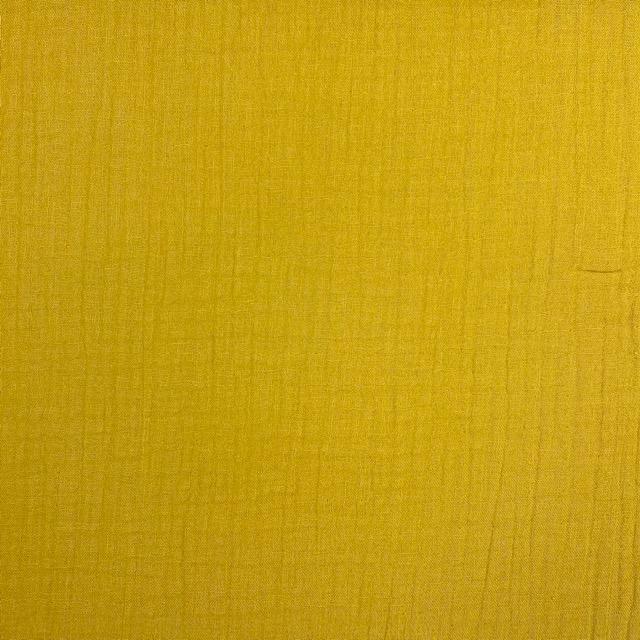 Baumwoll Musselin Triple Gauze, ocker. Art. 8290-085