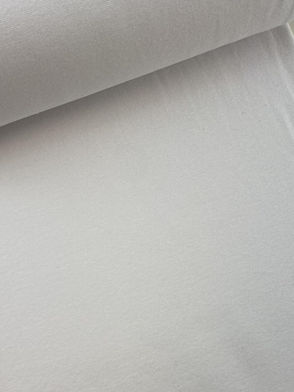 Bündchenware (glatt), weiß. Art. SW10640