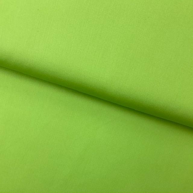 Baumwollpopelin, Uni, lime. Art. SW11426