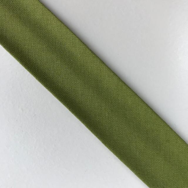Baumwollpopeline - Schrägband, apfelgrün. Art. SW11664