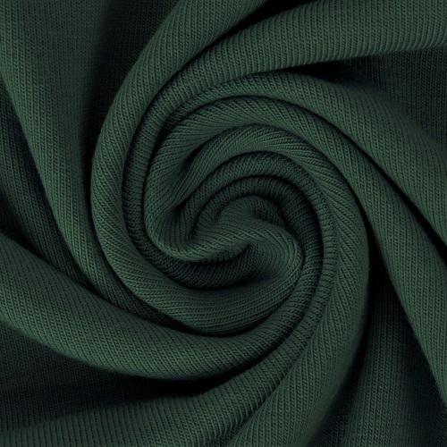 Baumwolljersey, uni, dunkelgrün. Art. 8973/827