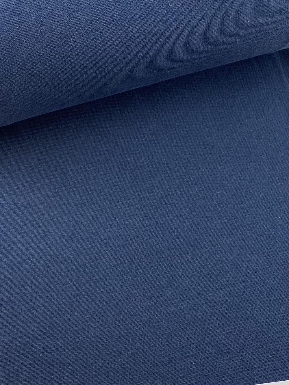 Bündchenware (glatt), dunkel jeansblau. Art. SW10639