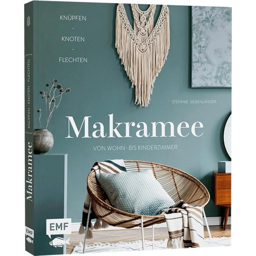 Buch Makramee- knüpfen, knoten, flechten 20x23,5 cm