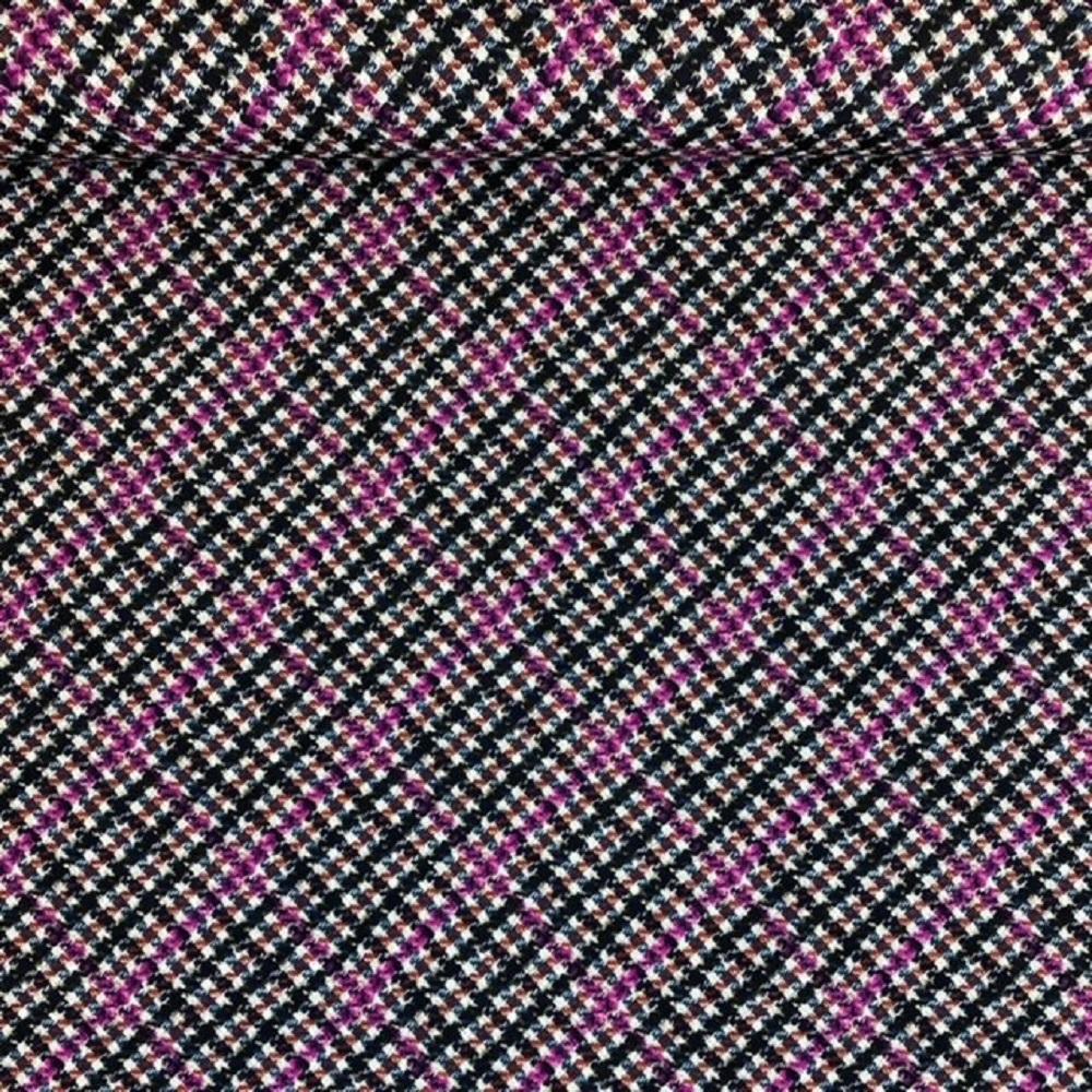 Scubajersey, lila/schwarz. Design-Linie.  Art. J-1352-268