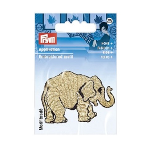 Applikation Elefant gold. Art. 926711
