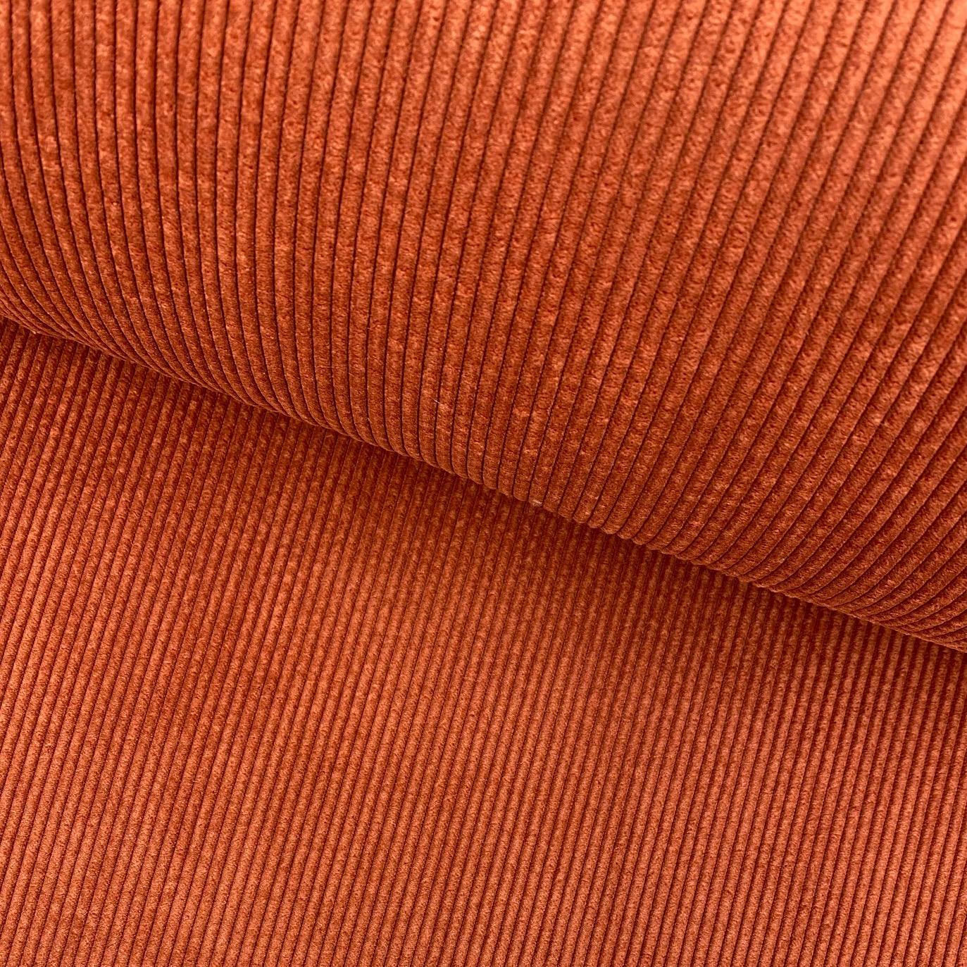 Cord mit Fellabseite, rostfarbe. Art. 132746