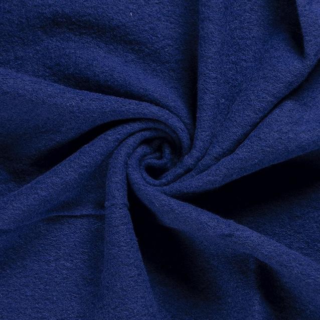 Kochwolle Klassik, einfarbig, kobaltblau. Art. 00669/005