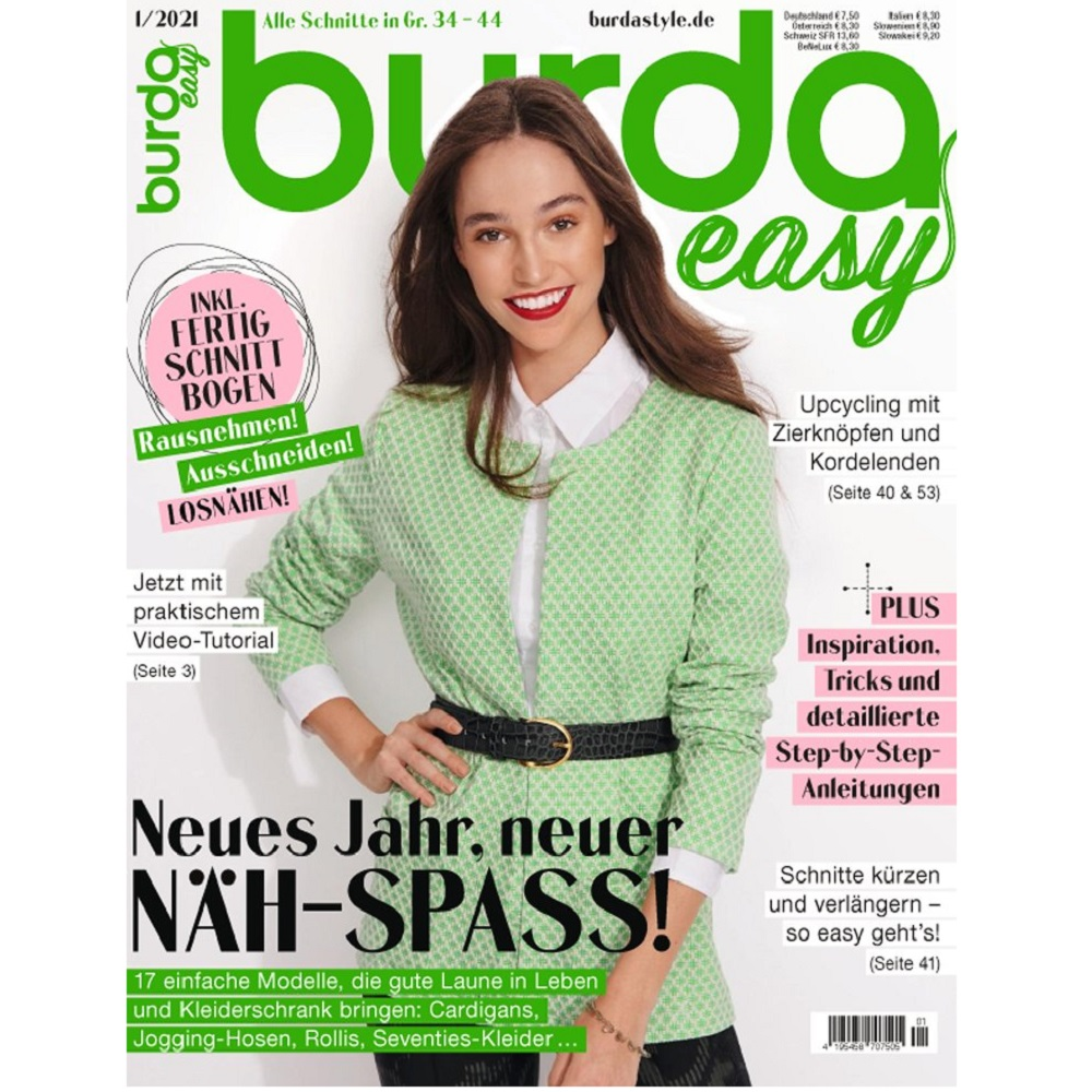 Burda easy 1/2021