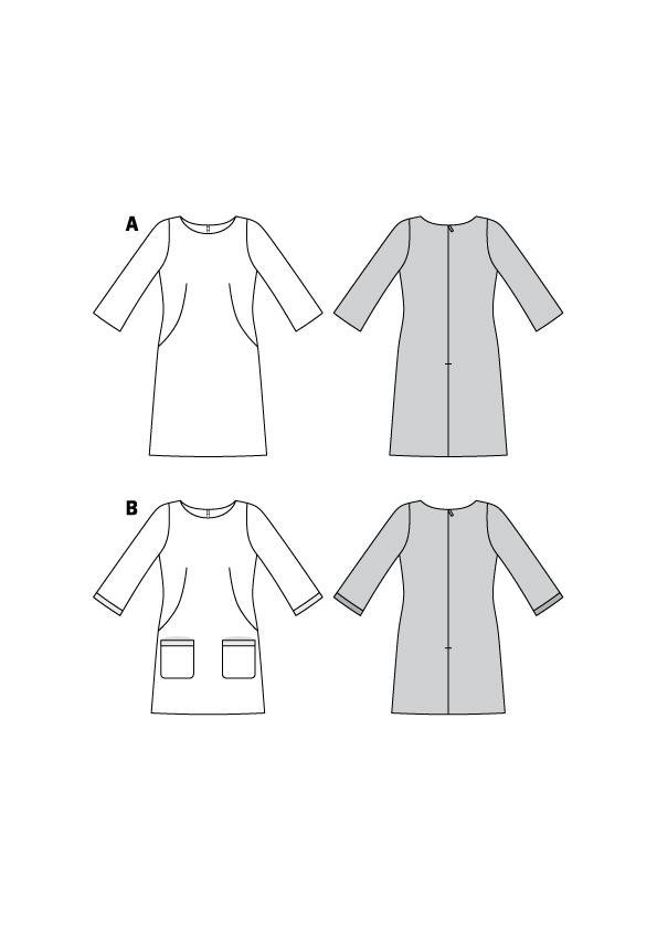 Feminine Kleider #6149